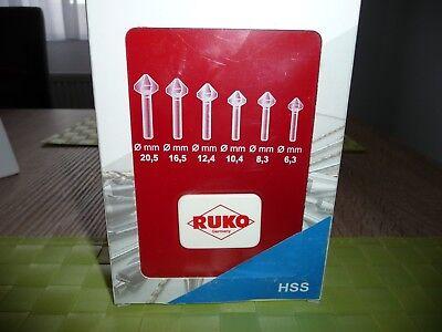 Kegelsenker Set Quick Cut HSS DIN 355 Form C 90° Art.Nr. 102752