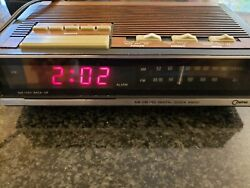 Retro Vintage Cosmo CR 2001A AM/FM Digital Alarm Clock