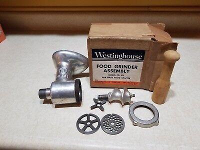 Westinghouse Food Meat Grinder Assembly Fg 531 For Fm511 Food Crafter