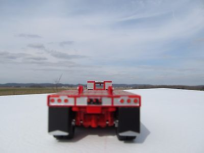 Dcp 1//64 Blue Lowboy Trailer With Flip Axel Fontaine Renegade Farm Toy