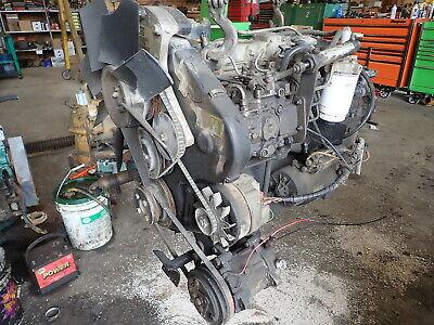 Perkins 504-2t Turbo Diesel Engine Runs Exc Super Rare Bb Prima