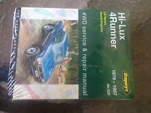 Hilux repair manual 79-97 diesel new Broken Hill Central Broken Hill Area Preview