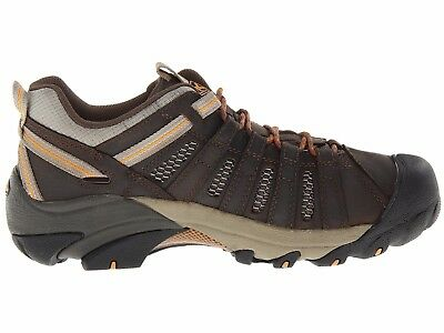 New Keen Mens Voyageur Leather Athletic Support Hiking Trail Walking Shoes 12