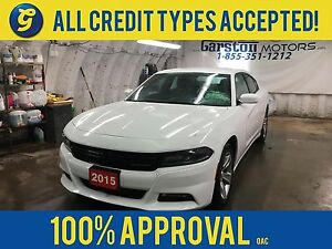 2015 Dodge Charger SXT*Uconnect 8.4-in Touch Screen/SiriusXM/Han