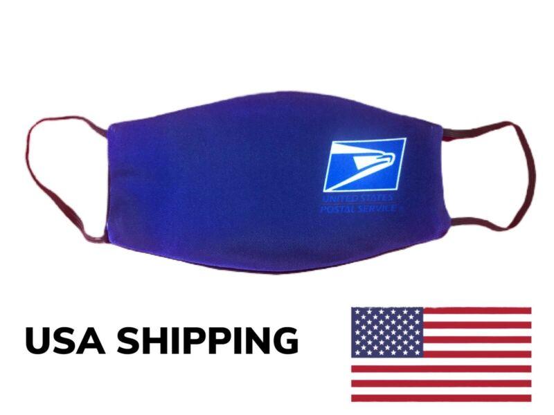 Face Mask USPS POSTAL SERVICE Pocket For Filter