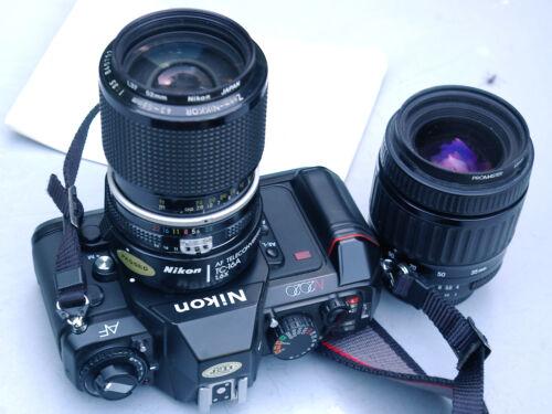 NIKON N2020 w/ TC-16A, 3.5/43-86mm NIKKOR AI Lens, Manual, More!