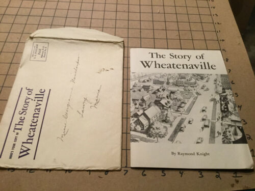 Vintage THE STORY OF WHEATENAVILLE - 1934 in envelope - 20pgs