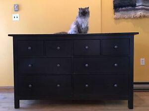 Hemnes 8 drawer dresser $100 (1/3 of the original price!))