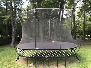Springfree Trampoline 8ft x 13ft Oval