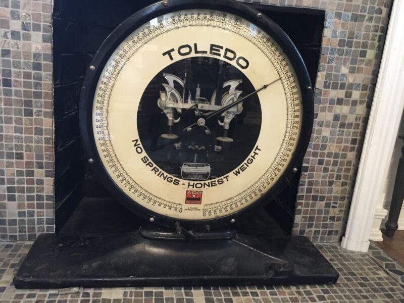 Antique Toledo Scale