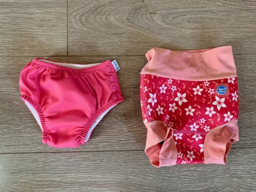 Splash About and iPlay Reusable Swim Diapers - pink 6-12 months