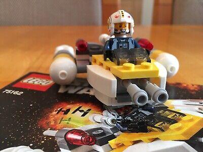 Lego Star Wars Y Wing Microfighter 75162 & Tie Striker Microfighter 75161