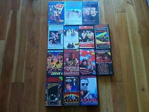14 VHS Video Tapes Movies Ex Rental Rare 80s 90's-$10 for the lot Allawah Kogarah Area Preview