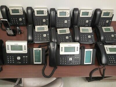 Yealink 3 Line Business Phone System 9-sip-t23g 3-t27g 1 Cordless