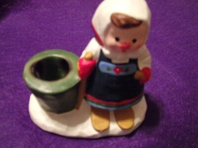 Dutch Girl Candle Holder by - Dutch Candle