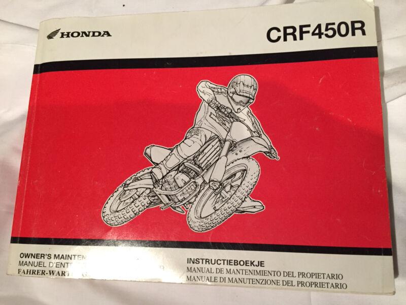 honda crf 450 manual motorcycle scooter accessories gumtree rh gumtree com au crf250r owner's manual pdf