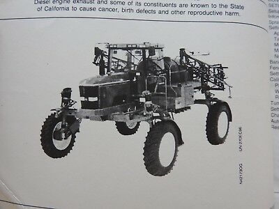 Genuine John Deere 4700 Self-propelled Sprayer Operators Manual Very Clean