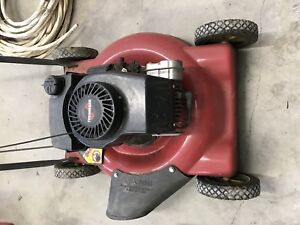 Lawnmower / tondeuse