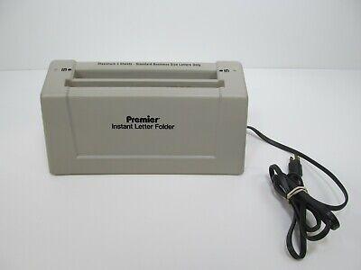 Martin Yale Premier Instant Letter Folder Paper 3 Sheet Max Model 1400 Machine