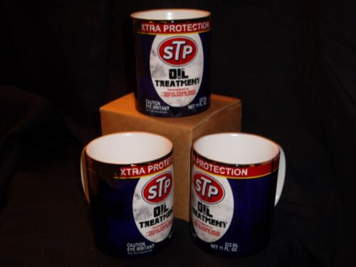 STP OIL CAN VINTAGE CLASSIC RETRO STYLE 11 OZ COLLECTIBLE COFFEE MUG