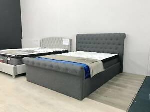 MASSIVE STORAGE & LUXURY BRAND NEW gas lift bed frame - PRE-ORDER NOW