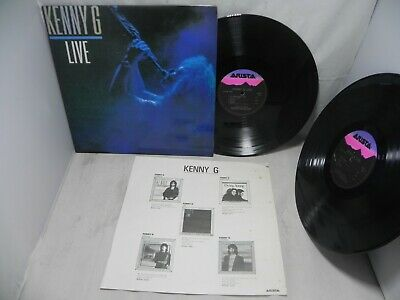 Kenny G - Live 1991 Rare Korea Double LP W/Insert