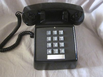 Western Electric Model 2500 Black Touchtone Telephone