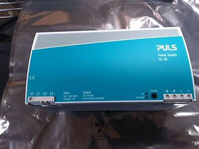 Puls Sl30 Power Supply Dc In 400500 Vac Output 24-48vdc 30amp