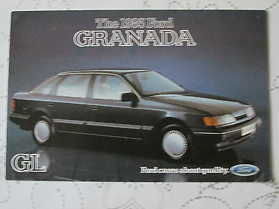 1985 FORD GRANADA GL POSTCARD REF NO SP 272