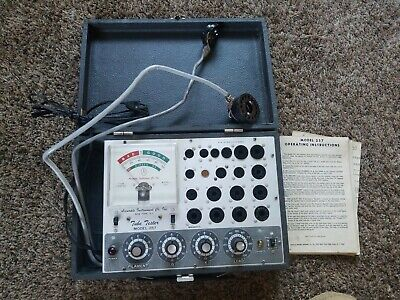 Accurate Instrument Co. Model 257 Tube Tester Testing Machine
