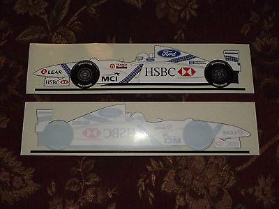 Official Jackie Stewart Team SF-1 F1 Formula One Car Sticker Grand Prix Photo.