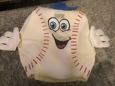 Baseball Waver Mascot Costume Adult Sports Funny Halloween](Sports Mascot Halloween Costumes)
