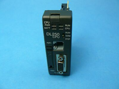 Plc Direct Logic Koyo D2-250r Dl205 Cpu 14.8k Words 1 Year Warranty