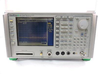 Anritsu Ms2687b 9khz To 30ghz Rf Spectrum Analyzer - 90 Day Warranty