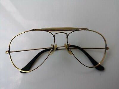 RAY BAN Pilotenbrille Outdoorsman Goldfarbig 1983 BAUSCH & LOMB/USA Vintage ()