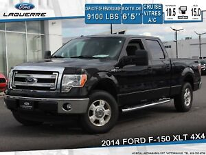 2014 Ford F-150 XLT**4X4*6 PLACES*BLUETOOTH*A/C**