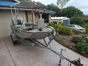 Boat and trailer - 11 foot stessl edgetracker Coes Creek Maroochydore Area Preview