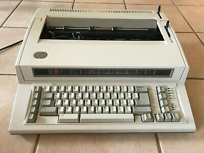Ibm Personal Wheelwriter 2 Electronic Typewriter 6781 Wheel Writer Tested Nice