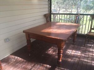 Farmhouse dining table Tallegalla Ipswich City Preview