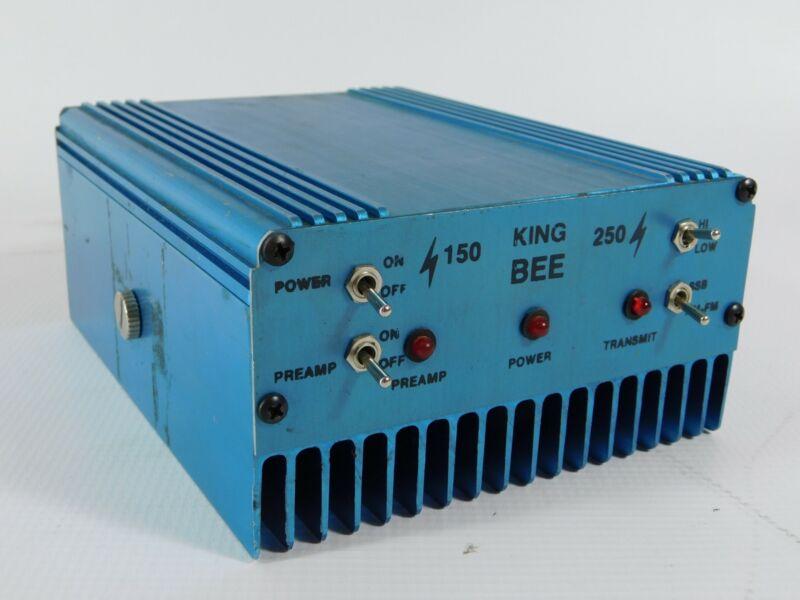 King Bee 150 250 10 Meter Amplifier w/ Preamplifier (works well)