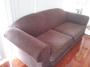 Large 2 Seater Fold Out Lounge with Queen Matress Mansfield Brisbane South East Preview