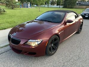 2008 bmw M6 supercharged convertible