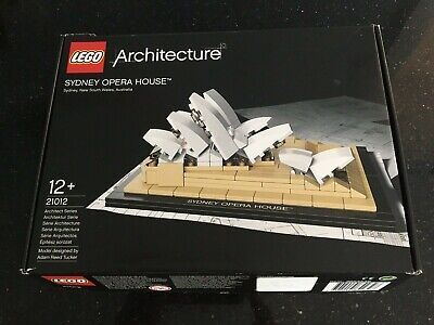 Lego Architecture 21012 Sydney Opera House - Complete in Box - Built Once