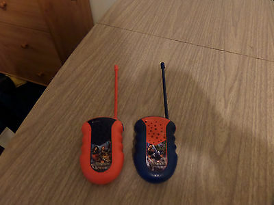 2  pieces kids walkie talkies[avenagers] segunda mano  Embacar hacia Mexico