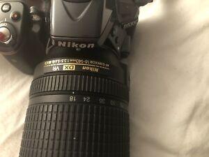 Nikon DSLR D5300 with  SB 700 speedlight flash