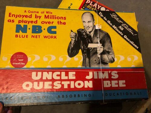 Vintage 1938 - 1940 Uncle Jim
