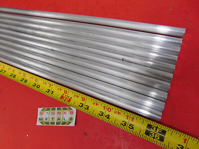 12 Pieces 38 Aluminum 6061 Round Rod 36 Long T6511 Solid Extruded Bar Stock
