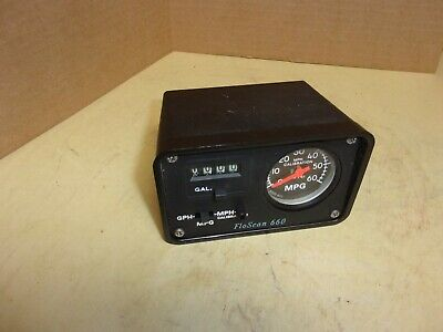 Flo Scan 660 A1695-60-1 Mph Mpg Counter
