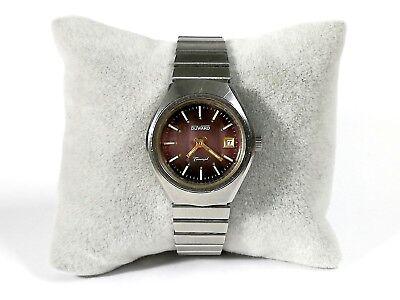 ea25498491b7 Reloj pulsera mujer DUWARD Triumph de cuerda fecha Original calibre FHF ST  69N