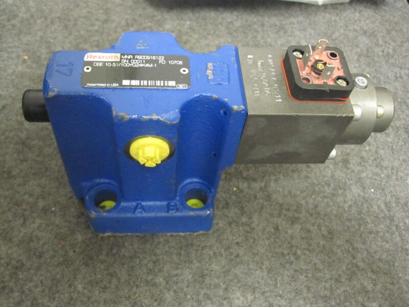 Rexroth R900916122 / DBE10-51/100YG24K4M-1 Proportional Relief Valve New